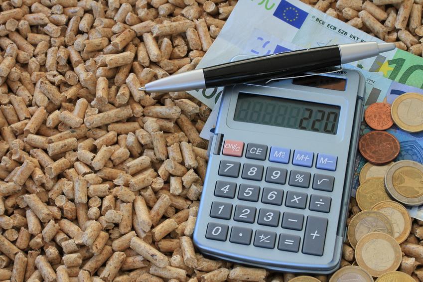 Taschenrechner Pellets